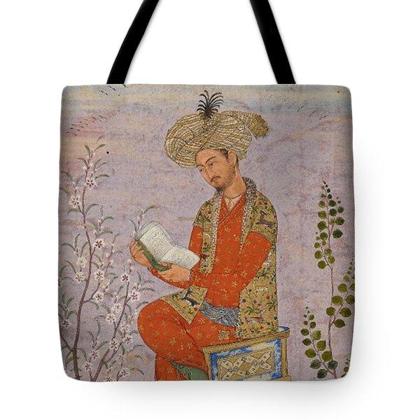 Royal Reader Tote Bag