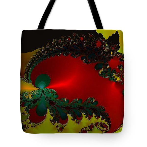 Royal Red Tote Bag by Kevin Caudill