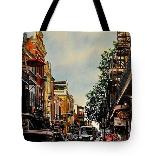 Royal Street Strole Tote Bag