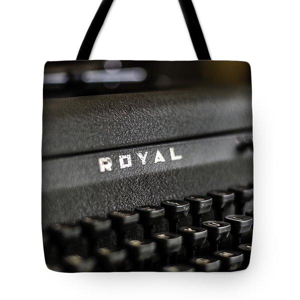 Royal Typewriter #19 Tote Bag