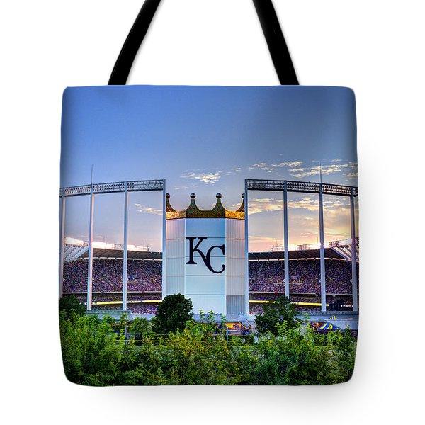Royals Kauffman Stadium  Tote Bag