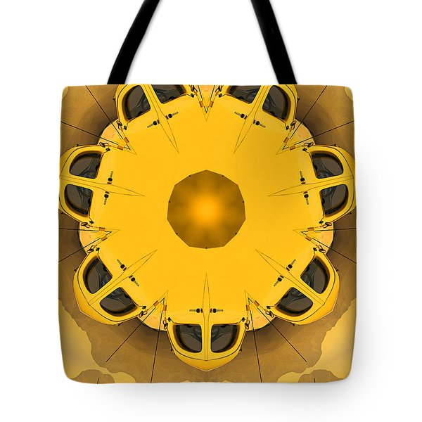 Tote Bag featuring the digital art Rozwell by Peter J Sucy