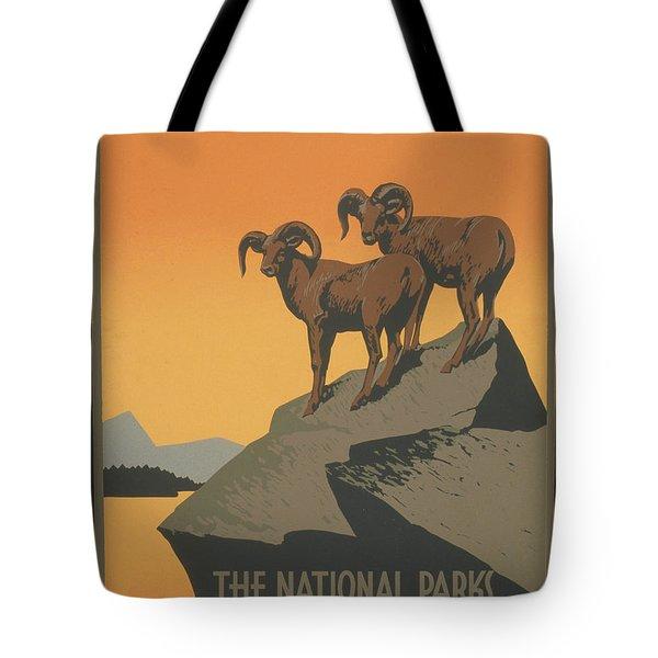 Rreserve Wildlife Tote Bag by Unknown