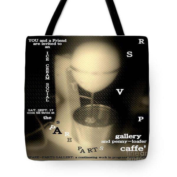 Tote Bag featuring the photograph Rsvp by Jack Dillhunt