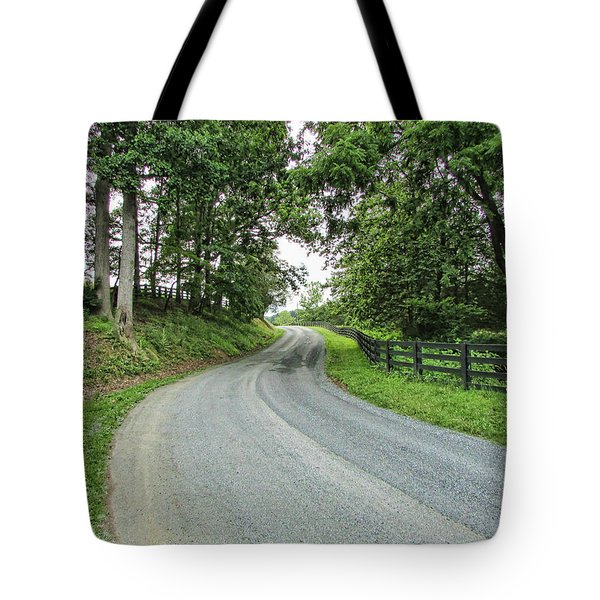 Rt 608 Tote Bag by Victor Montgomery