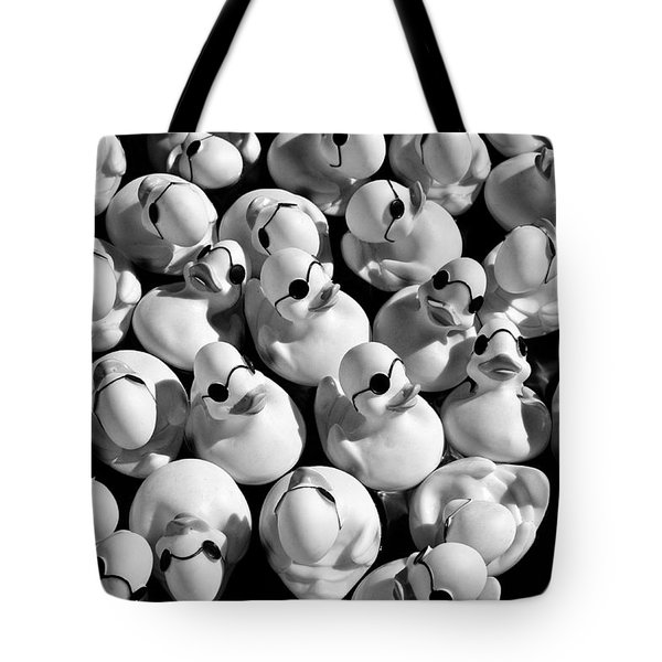 Rubber Duckies Tote Bag