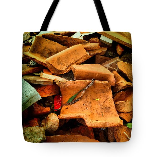 Tote Bag featuring the photograph Rubbish by Beto Machado