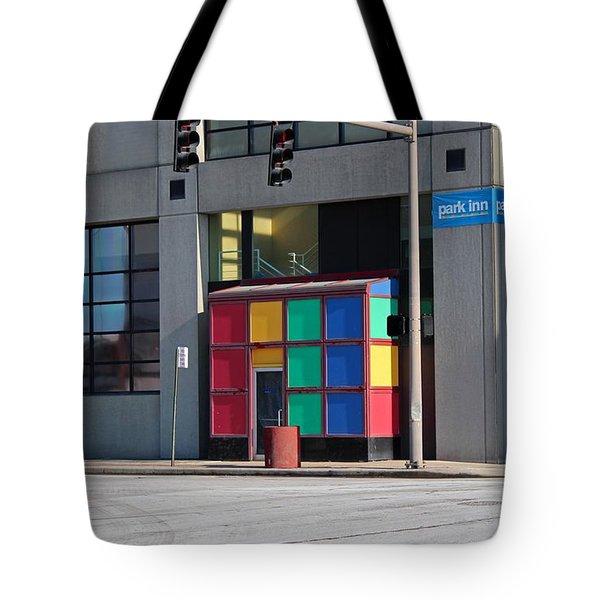 Rubik Shelter Tote Bag