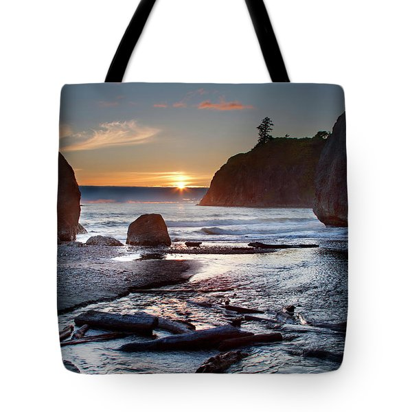 Ruby Beach #1 Tote Bag