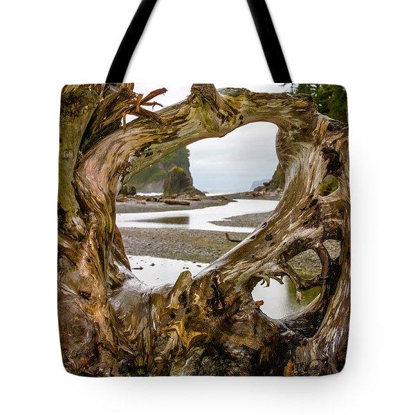 Ruby Beach Driftwood 2007 Tote Bag