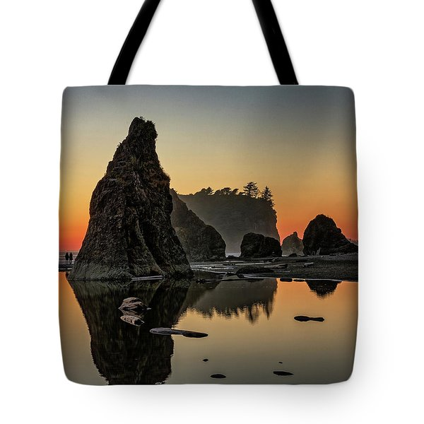 Ruby Beach At Sunset Tote Bag
