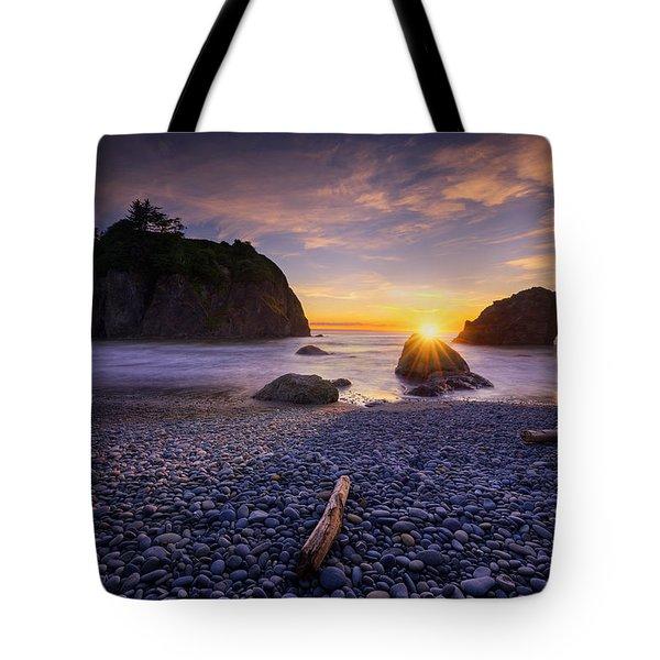 Ruby Beach Dreaming Tote Bag