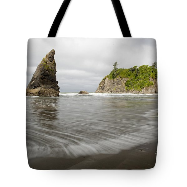 Ruby Beach Tote Bag