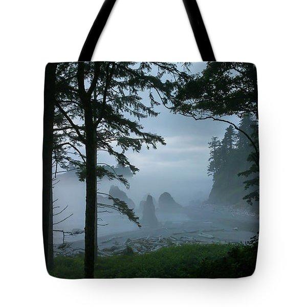 Ruby Beach II Washington State Tote Bag