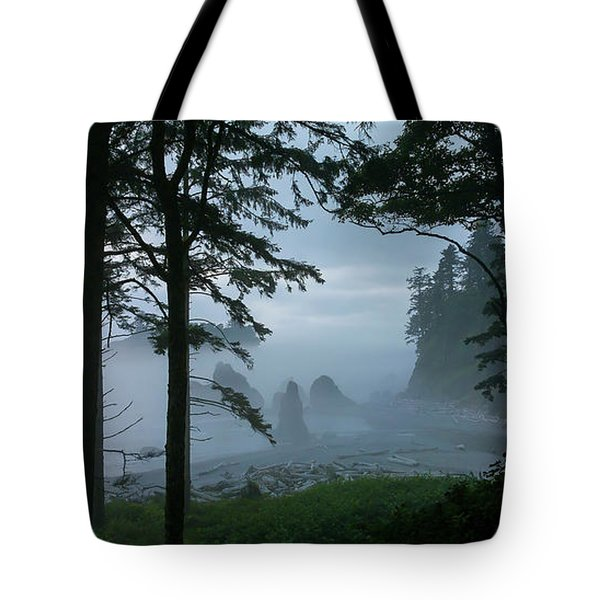 Ruby Beach II Washington State Tote Bag