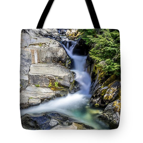 Ruby Creek Mt Rainier Tote Bag
