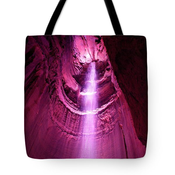 Ruby Falls Waterfall 5 Tote Bag