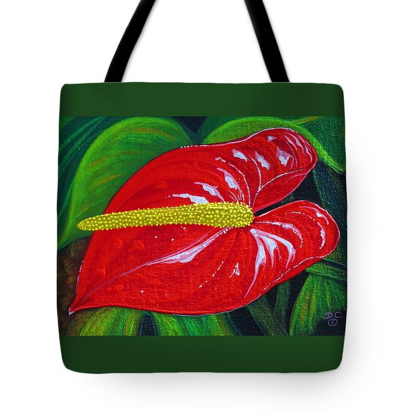 Ruby Holiday Tote Bag