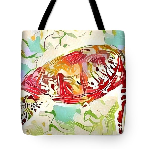 Ruby The Turtle Tote Bag