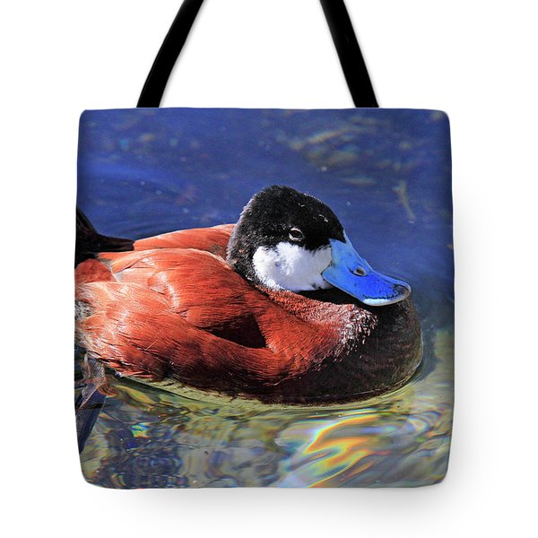 Ruddy Duck 2 Tote Bag