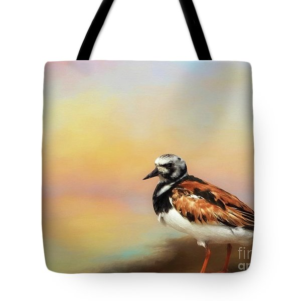 Ruddy Turnstone Tote Bag by Suzanne Handel