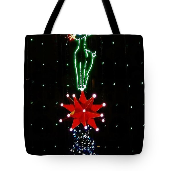 Rudolf Card Tote Bag