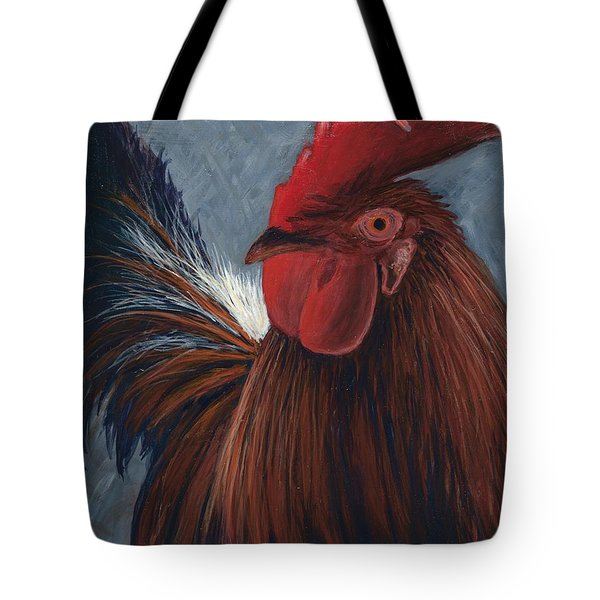 Rudy The Rooster Tote Bag