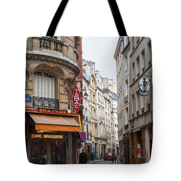 Rue Dante Paris Tote Bag
