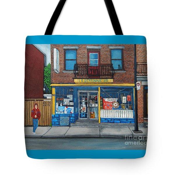 Rue Du Centre Depanneur Tote Bag