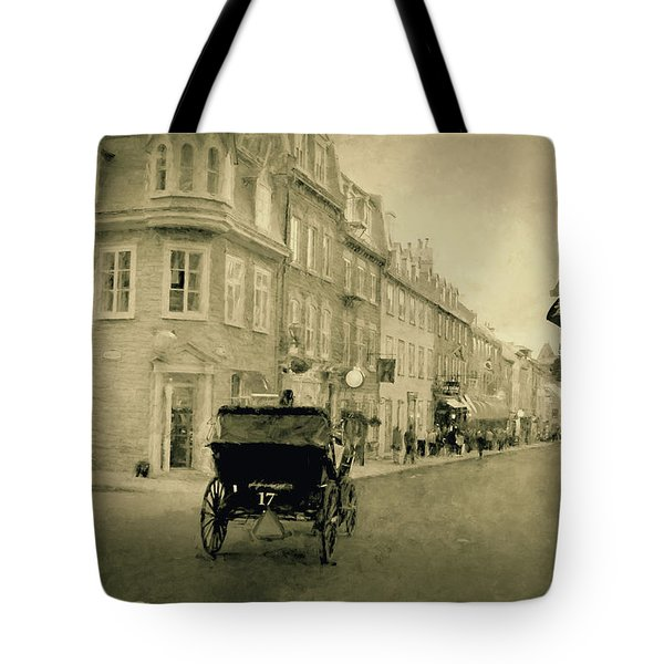 Rue Saint Louis - Quebec City  Tote Bag