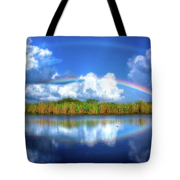 Rue's Rainbow Tote Bag