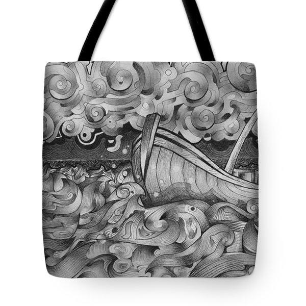 Ruff Sea Tote Bag