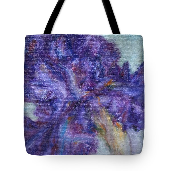 Ruffled Tote Bag by Quin Sweetman