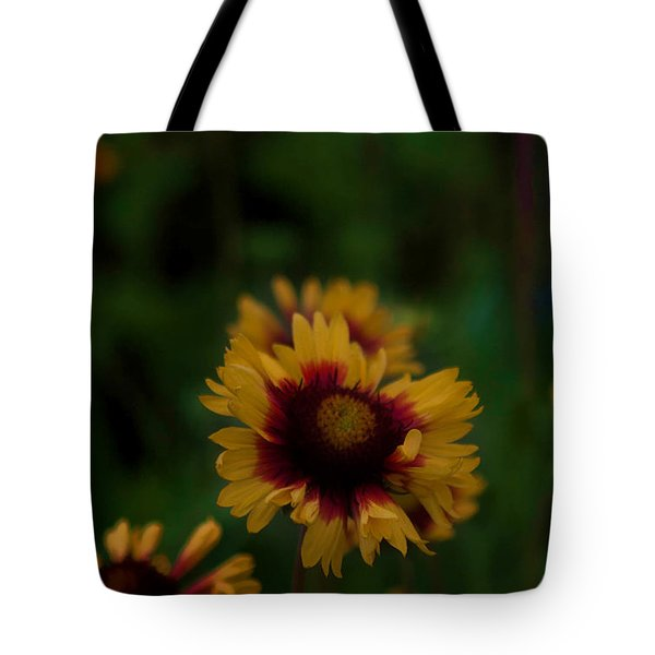 Ruffled Up Tote Bag by Cherie Duran