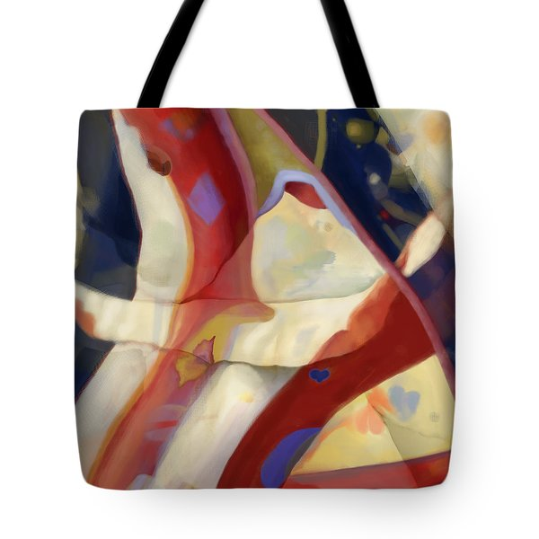 Ruffles And Flourishes Tote Bag