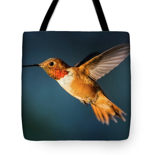 Rufous Tote Bag by Martina Thompson