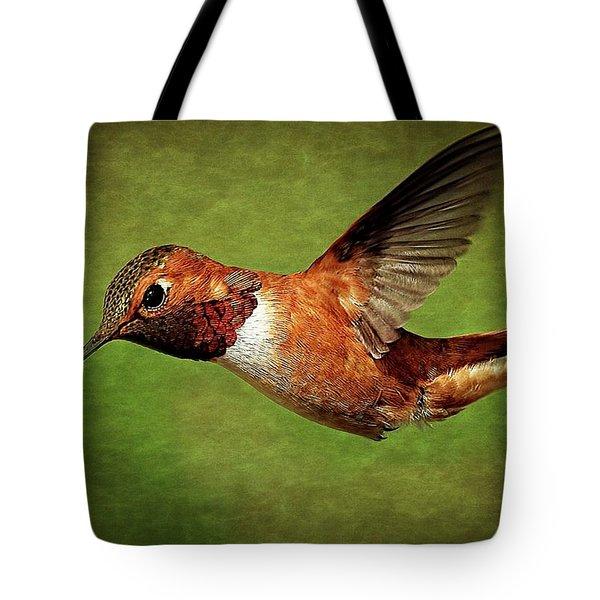 Rufous Portrait Tote Bag