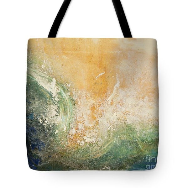 Rugged Coast Aerial View Tote Bag