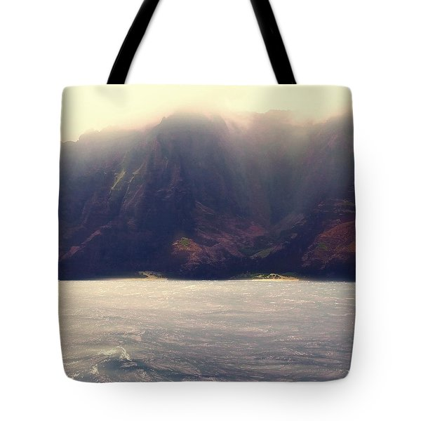 Rugged Coast Tote Bag by Jim Vance