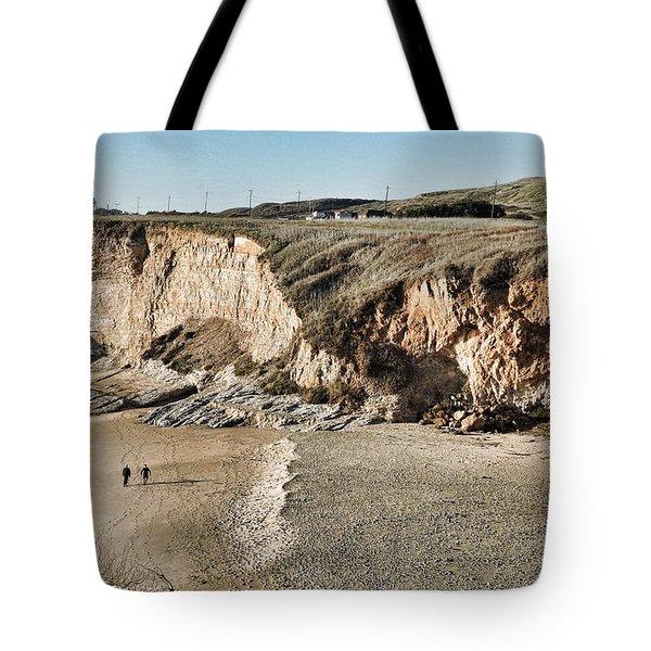 Rugged Coastline Tote Bag