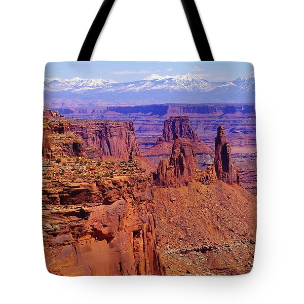 Rugged Landscape Tote Bag
