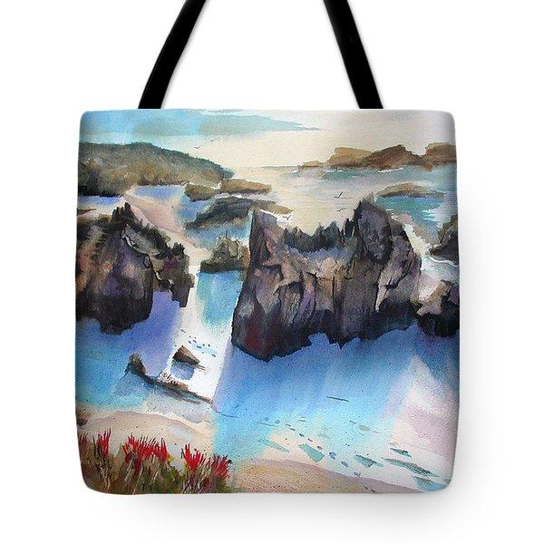 Marin Lovers Coastline Tote Bag