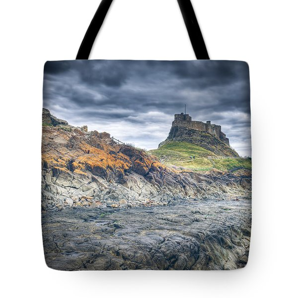 Tote Bag featuring the photograph Rugged Shoreline by Ray Devlin