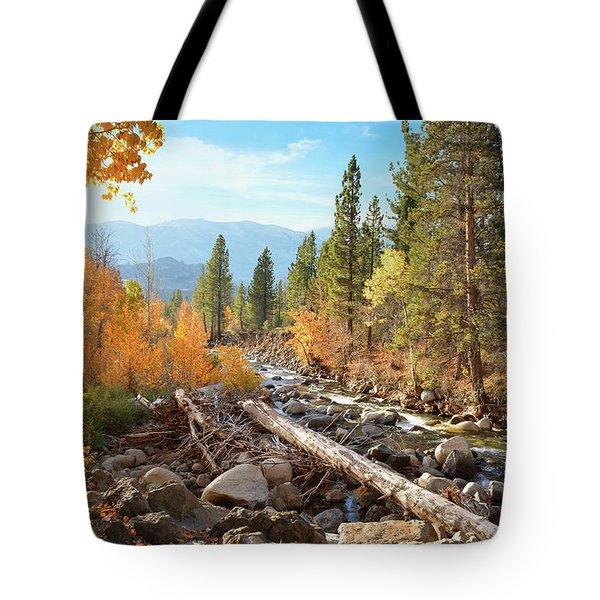 Rugged Sierra Beauty Tote Bag