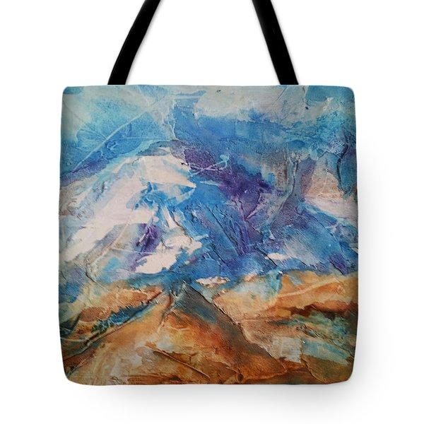 Rugged Terrain Tote Bag