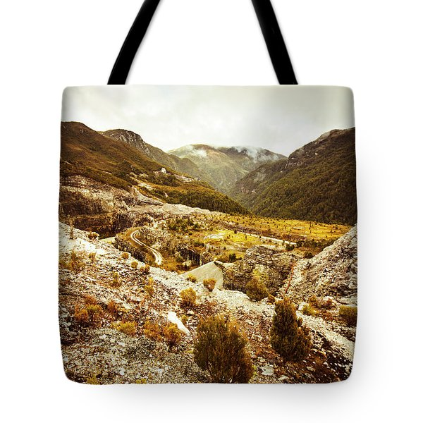 Rugged Valley Wilderness Tote Bag