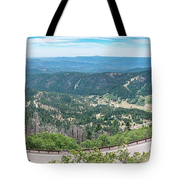 Ruidoso, Nm Panoramic Tote Bag