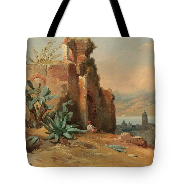 Ruines Antiques Tote Bag