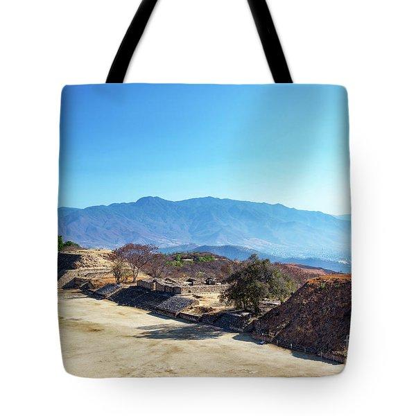 Ruins And Hills Tote Bag