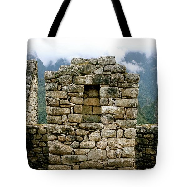 Ruins In A Lost City Tote Bag